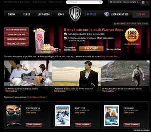 Warner DVD Club